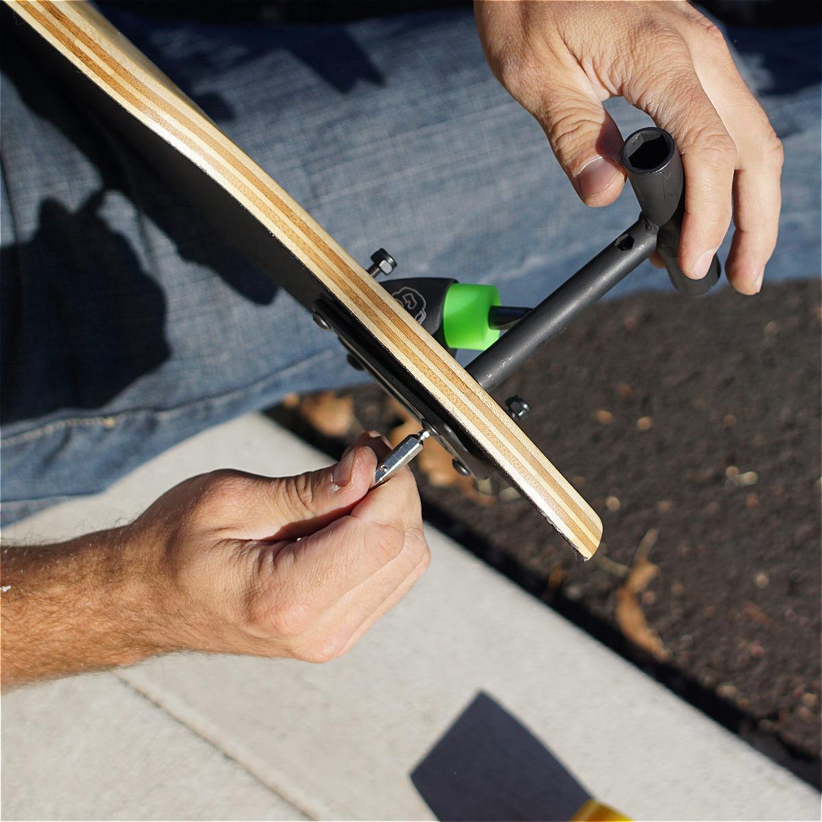 Rush Black Skate Tool The Longboard Store