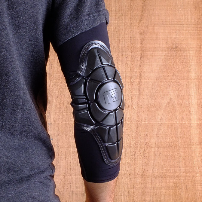 G Form Pro X Black Charcoal Elbow Pads The Longboard Store