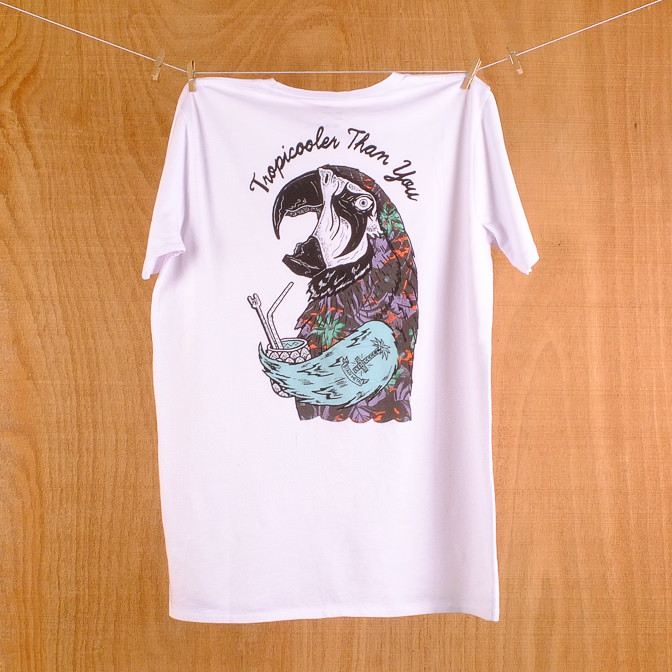 Globe Est At Sea White Cooler Tee Shirt The Longboard Store