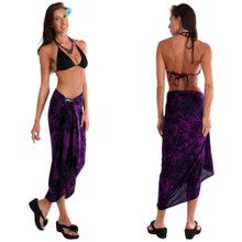 Smoked Sarong in Purple