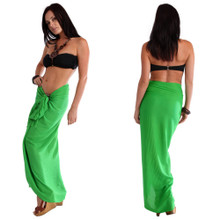 Sea Green Solid Color Sarong