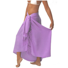 Solid Colored Sarong in Lavender