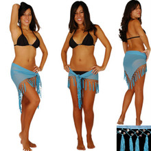 Sheer Sarong in Light Blue