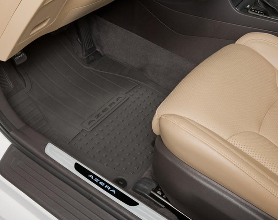 Hyundai Azera Rubber Floor Mats Hyundai Shop