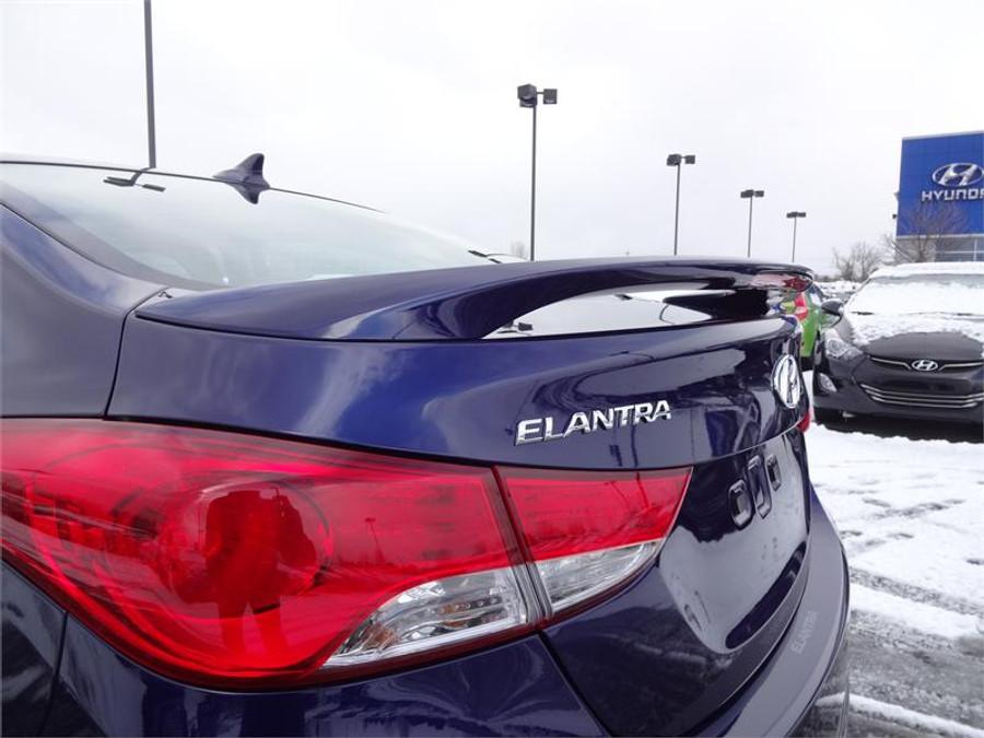 Hyundai Elantra Rear Spoiler Hyundai Shop