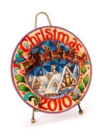 2010 Dated Santa Housetop