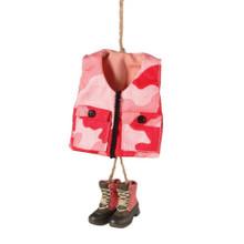 Pink Camo Vest Ornament