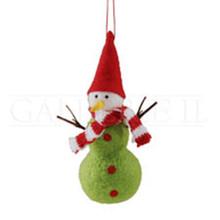 Tall Felt Snowman Ornament