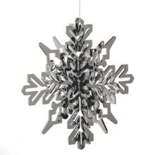 Oversized Silver Snowflake