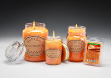 Carrot Cake Candles