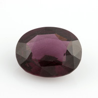 3.54ct Loose Spinel Gemstone - Oval Cut Purple 10.68mm x 8.51mm