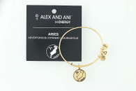 New ALEX AND ANI Aries Zodiac Charm Bracelet Adjustable Bangle w/ Card Star Sign
