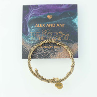 New ALEX AND ANI 2016 Holiday Eve Rope Wrap Bracelet Rafaelian Gold Finish