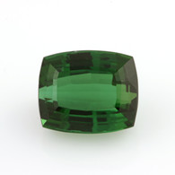 9.74ct Loose Tourmaline Gemstone - Green Genuine Faceted