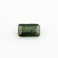 .90ct Loose Tourmaline Gemstone - Genuine Green Rectangle New