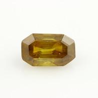 3.23ct Loose Sphene Gemstone - Brownish Orange Genuine 10.49mm x 6.39mm