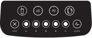 Blendtec Blender: Classic 575 Touch Screen Controls
