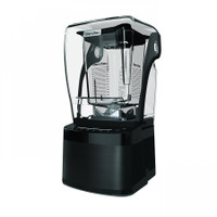 Commercial Blender Model: Stealth 875 (International Version - Canada) in Black with WildSide+ Jar and Sound Dome is included. Capacitive Touch screen controls.