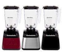 "The latest and newest Blendtec Designer Model in 2018.  The ""Designer 650"" line of blenders offer a rich array of super popular preset blend programs along with manual blending controls.  Available in a choice of three finishes: Red Pomegranate, Stainless Steel and Black. All come with the amazing WildSide+ Jars and Vented Gripper Lids."