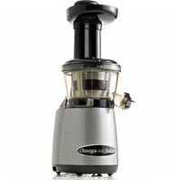 Omega Brand Masticating Juicer- Model VRT400. Silver Finish