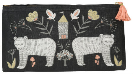 Wild Tale Cosmetic Bag - Large | Mama Bath + Body