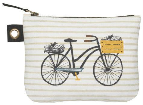 Bicicletta Zip Pouch - Large   Mama Bath + Body