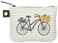 Bicicletta Zip Pouch - Large | Mama Bath + Body