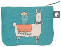 Llamarama Zip Pouch - Large | Mama Bath + Body