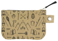 Adventure Awaits Zip Pouch - Small | Mama Bath + Body