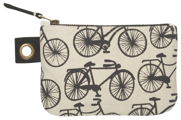 Bicicletta Zip Pouch - Small   Mama Bath + Body