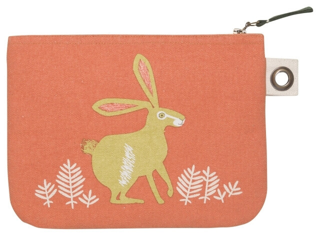 Hill & Dale Zip Pouch - Large | Mama Bath + Body