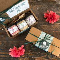 Bath Salts Trio | Mama Bath + Body