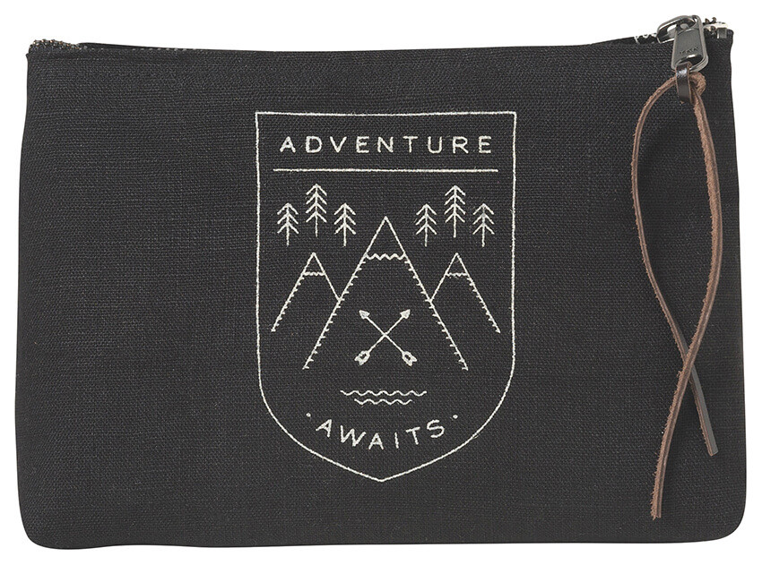 Adventure Awaits Cosmetic Bag - Small