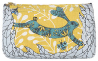 Birdland Cosmetic Bag - Pencil | Mama Bath + Body