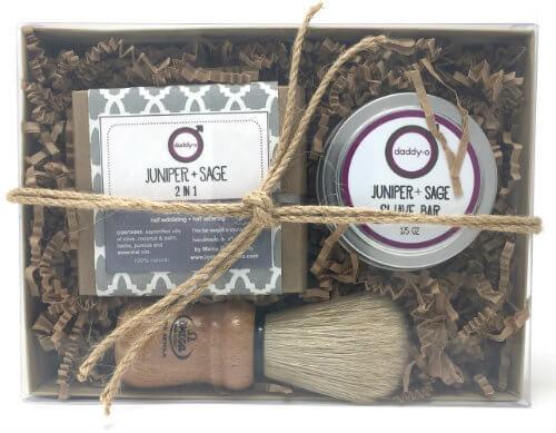 Daddy-O Juniper + Sage Shave Kit   Mama Bath + Body