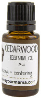 Cedarwood Essential Oil | Mama Bath + Body