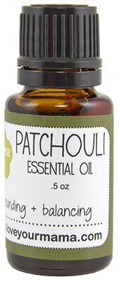 Patchouli Essential Oil   Mama Bath + Body