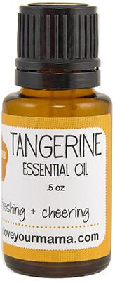 Tangerine Essential Oil | Mama Bath + Body