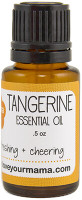 Tangerine Essential Oil | Mama Bath + Body