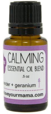Calming (Lavender + Geranium) Essential Oil Blend | Mama Bath + Body
