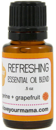 Refreshing (Tangerine + Grapefruit) Essential Oil Blend | Mama Bath + Body