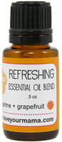 Refreshing (Tangerine + Grapefruit) Essential Oil Blend | Mama Bath + Body