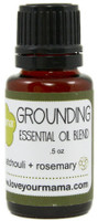 Grounding (Patchouli + Rosemary) Essential Oil Blend | Mama Bath + Body