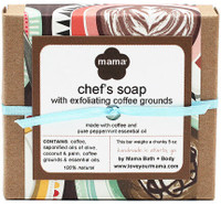 Chef's Soap (Coffee) - Gift Wrapped | Mama Bath + Body