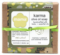 Karma Soap (Patchouli + Rosemary) - Gift Wrapped | Mama Bath + Body