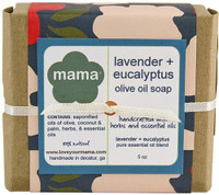 Lavender + Eucalyptus Soap - Gift Wrapped | Mama Bath + Body