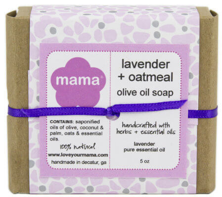 Lavender + Oatmeal Soap - Gift Wrapped | Mama Bath + Body