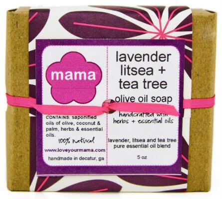 Lavender, Litsea + Tea Tree Soap - Gift Wrapped | Mama Bath + Body
