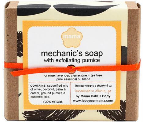 Mechanic's Soap (Pumice) - Gift Wrapped | Mama Bath + Body
