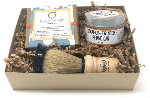 Daddy-O Bergamot + Fir Needle Shave Kit | Mama Bath + Body